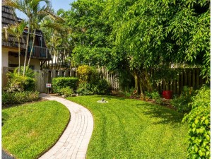 Private walkway to your gated delightful hideaway garden and vil